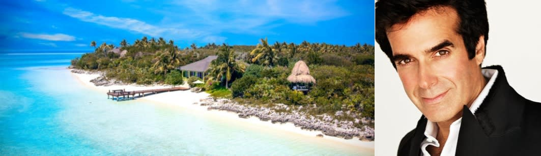 David Copperfield private Island Musha Cay