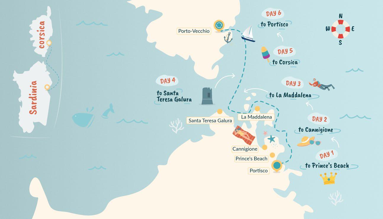 Sailing Sardinia, Italy   Your 20 Day Sardinia Sailing Itinerary ...