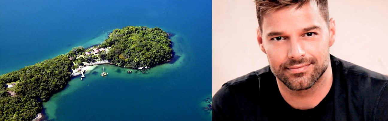 Ricky Martin private island Zizoo