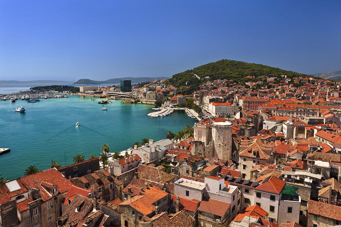 Sailing holiday in Split, Croatia