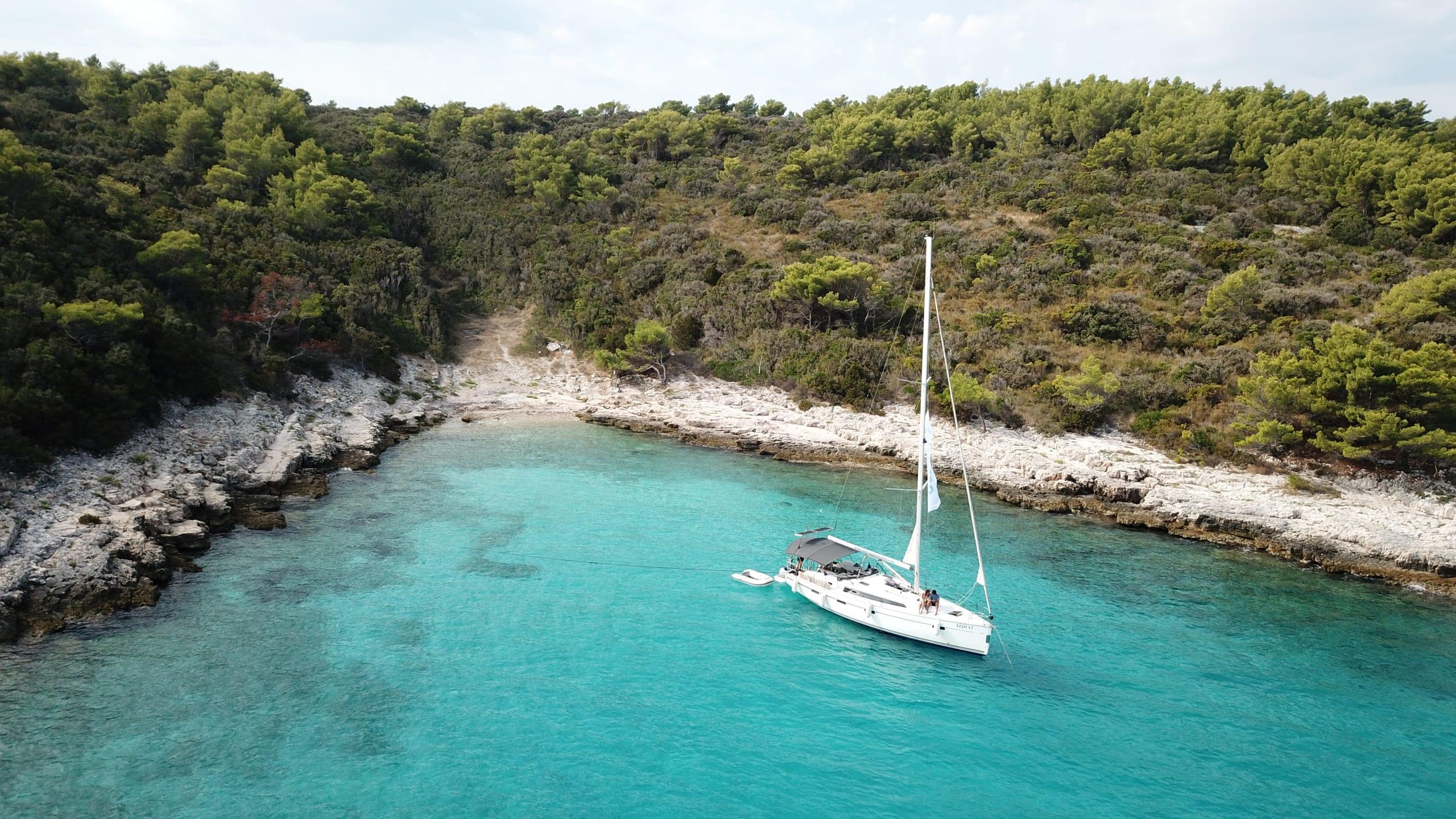 Segeln in Kroatien mit einem ZIZOO Boot