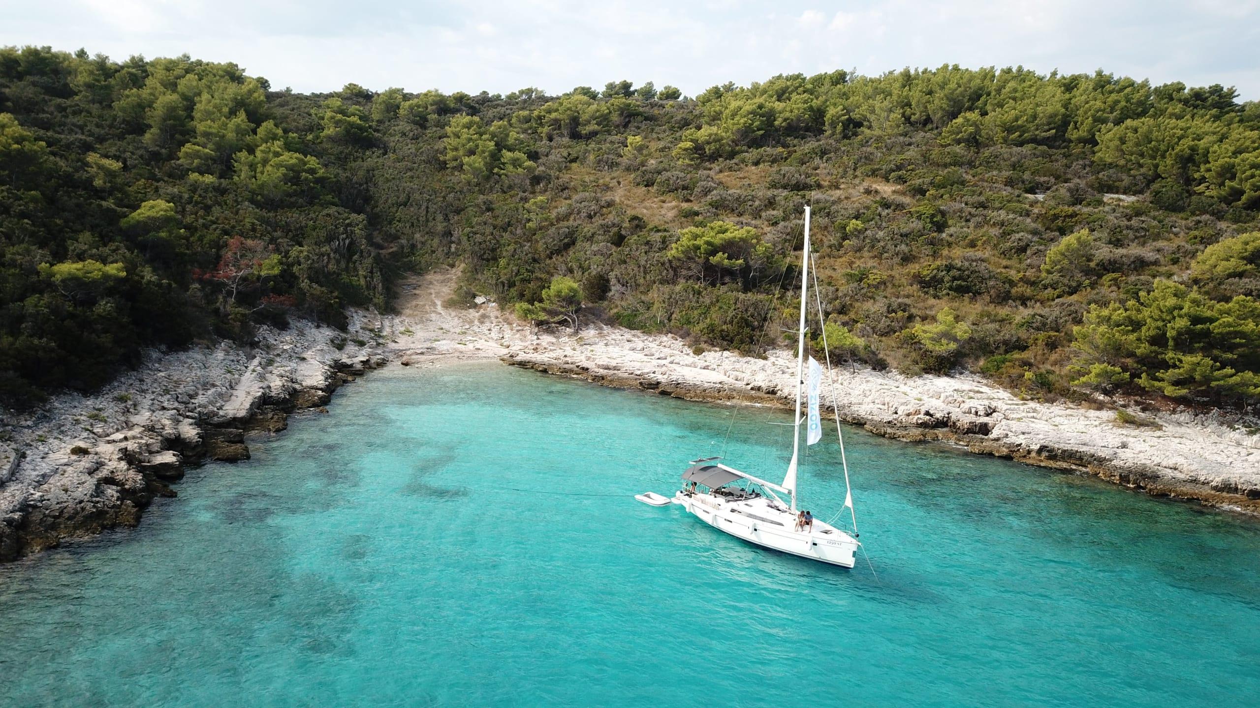 privat yacht sailing