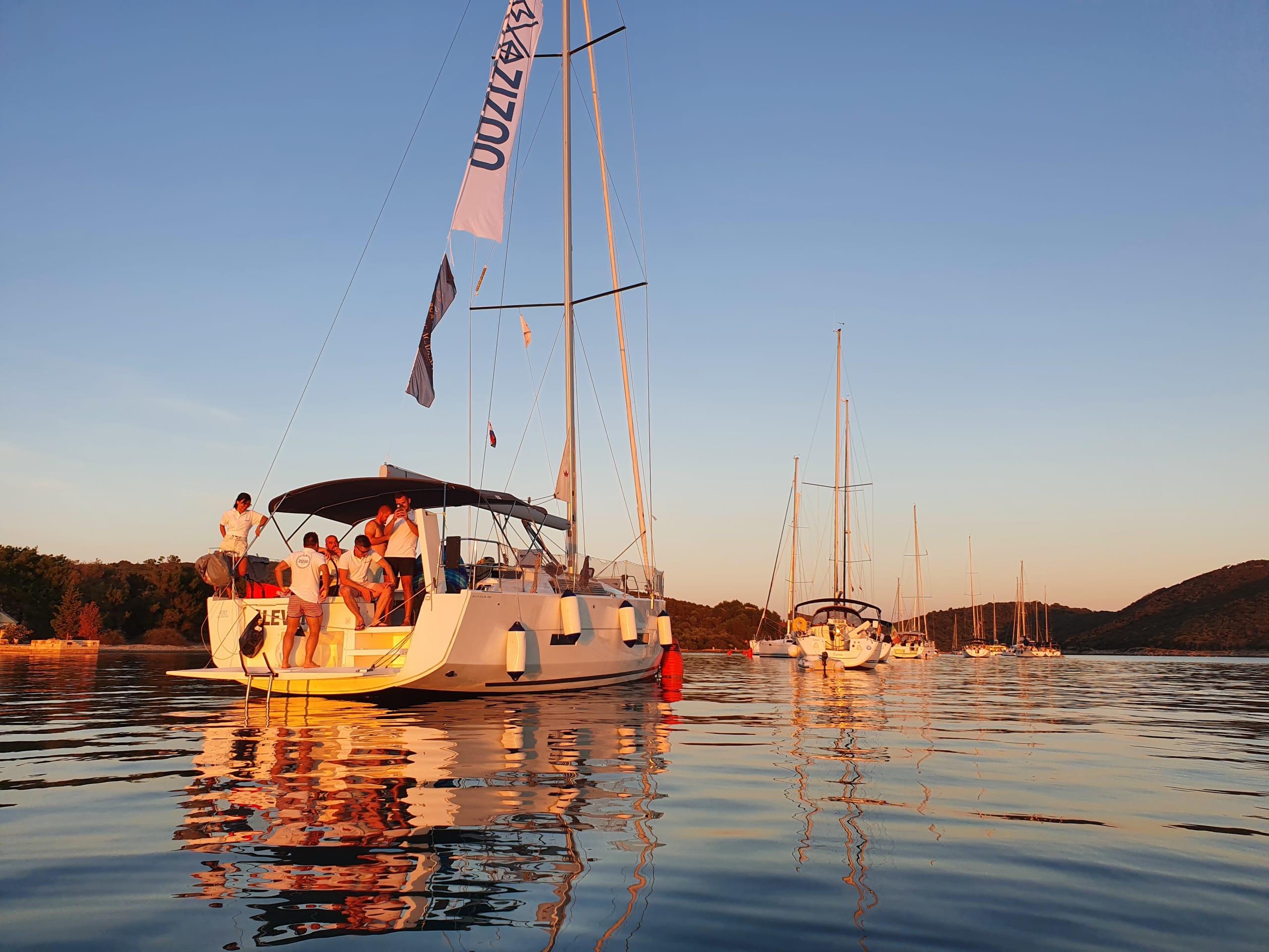Sailing in Croatia with ZIZOO