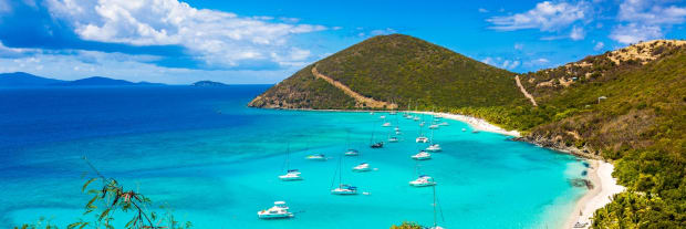 winter sailing destinations bvi