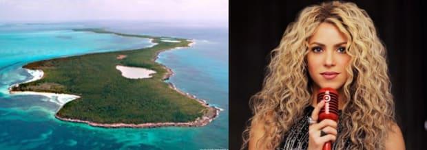 Shakira private island bonds Cay Zizoo