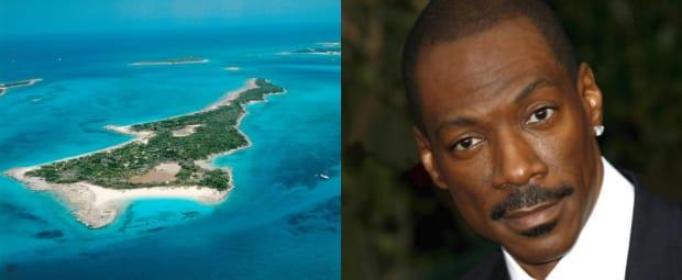 Eddie Murphy Private Island Rooster Cay Celebrities Zizoo