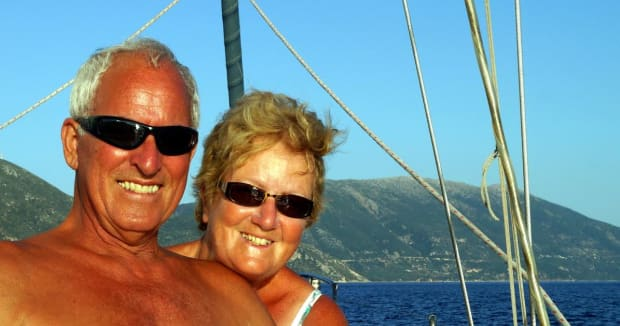 sailing in Volos, Thessaly