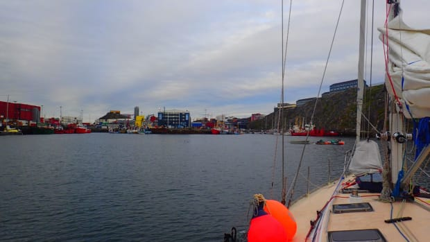 Sailing the North West Passage