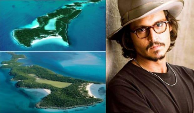 jonny depp private island celebrity Zizoo