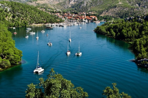 Croatia yacht charter with a skipper