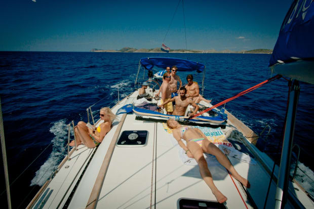 Party sailing in Europe