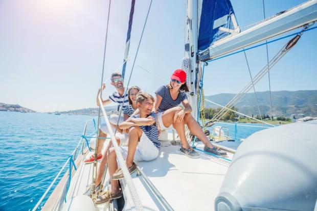 Segel-Destinationen für Familienurlaube