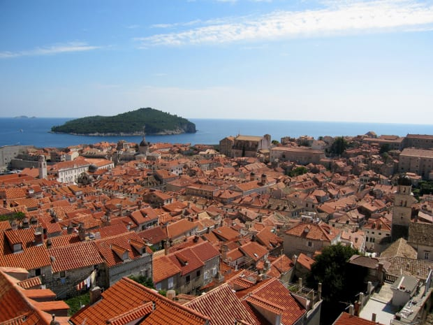 Dubrovnik and Lokrum game of thrones by boat