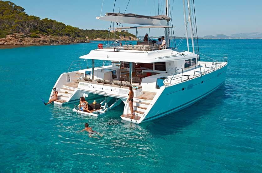 group holiday luxury catamaran