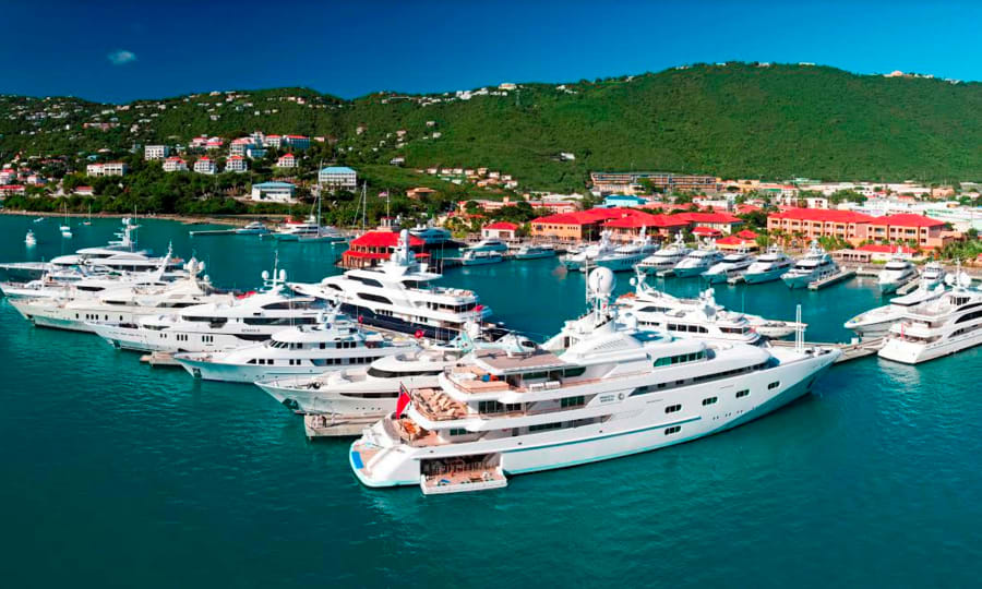 the largest yacht berths of the world