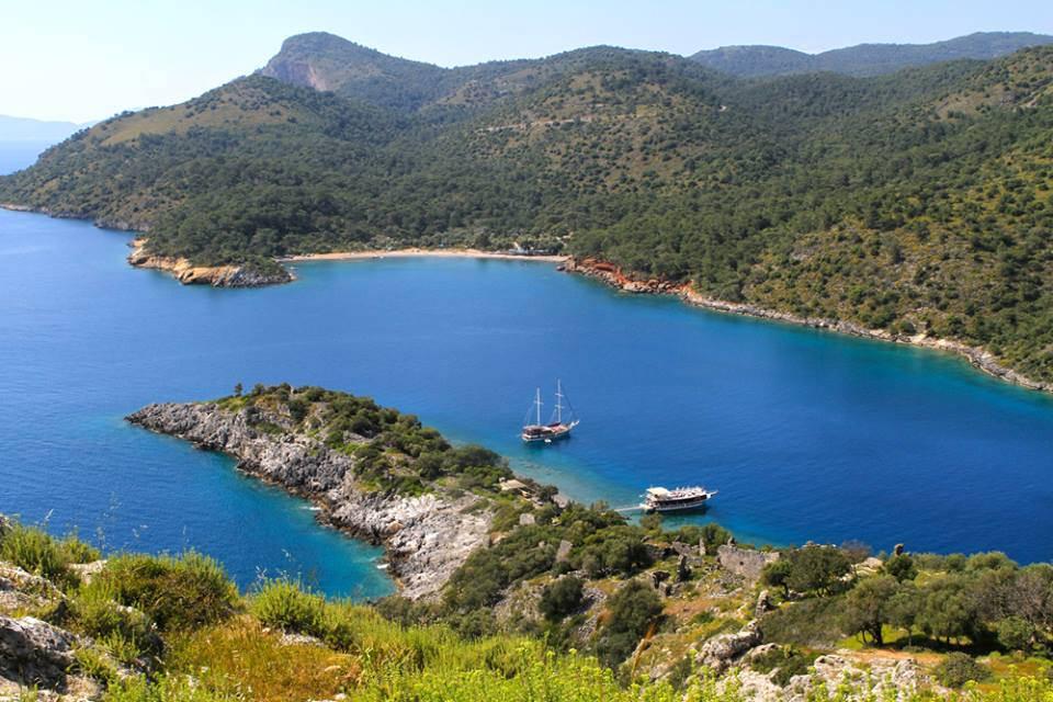 Bays and coves of Turkey's coast