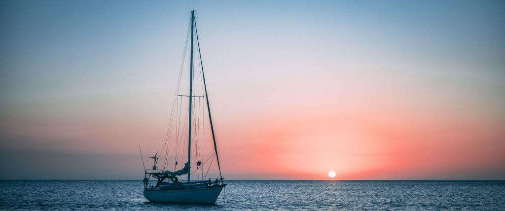 romantic sailing trip
