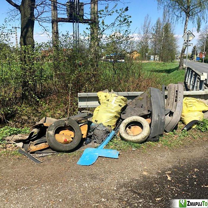 ZmapujTo.cz - hlášení číslo 136476, Odpadkový koš, kontejner, Hrabová