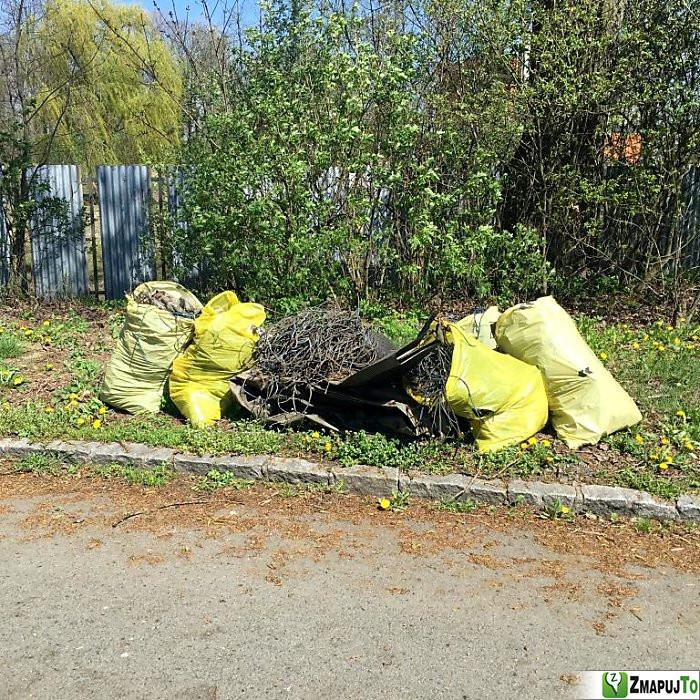 ZmapujTo.cz - hlášení číslo 136474, Odpadkový koš, kontejner, Hrabová