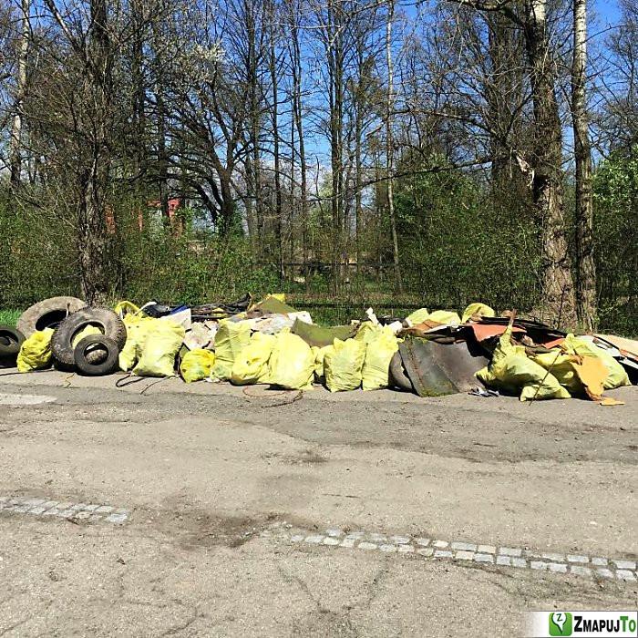 ZmapujTo.cz - hlášení číslo 136475, Odpadkový koš, kontejner, Hrabová