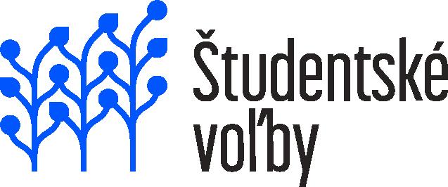 Študentské voľby logo