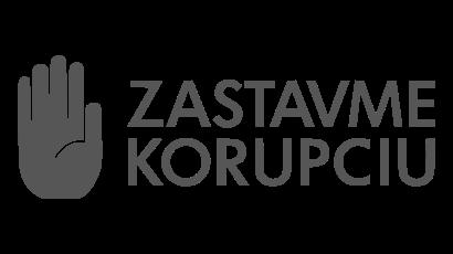 Logo - Zastavme korupciu