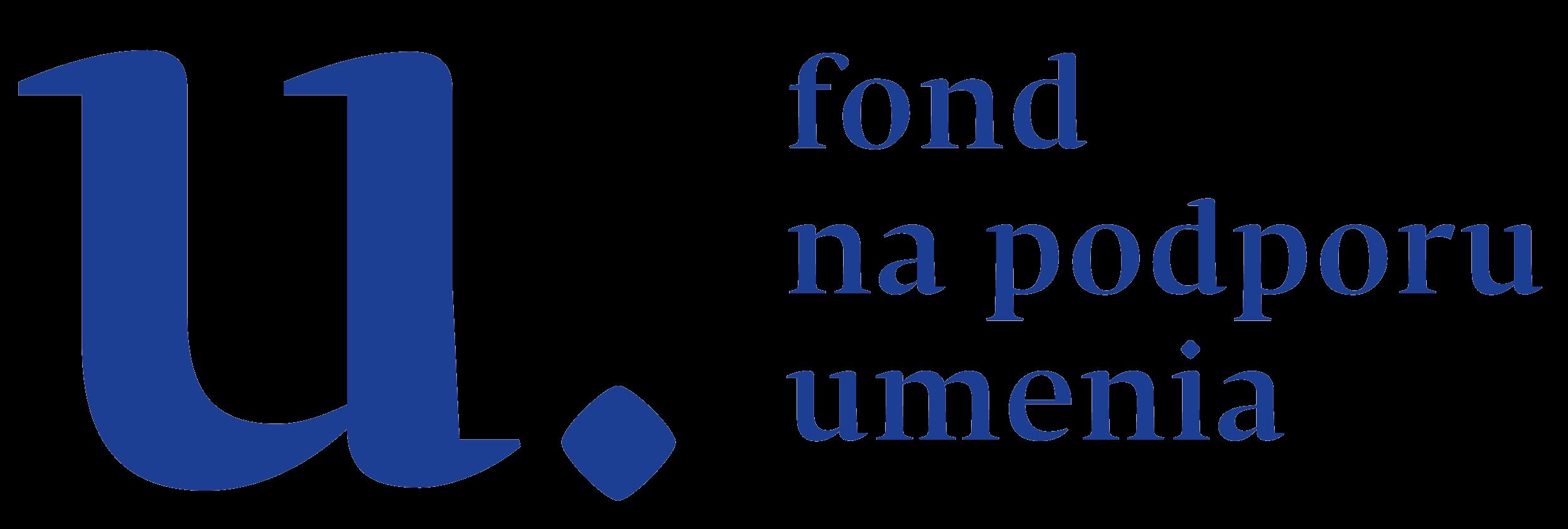 Logo - Fond na podporu umenia