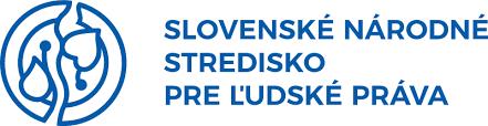 Logo Slovenské národné stredisko pre ľudské práva