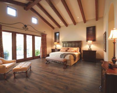 Mohawk Revwood Chalet Vista Midday, Mocha Oak Laminate Flooring
