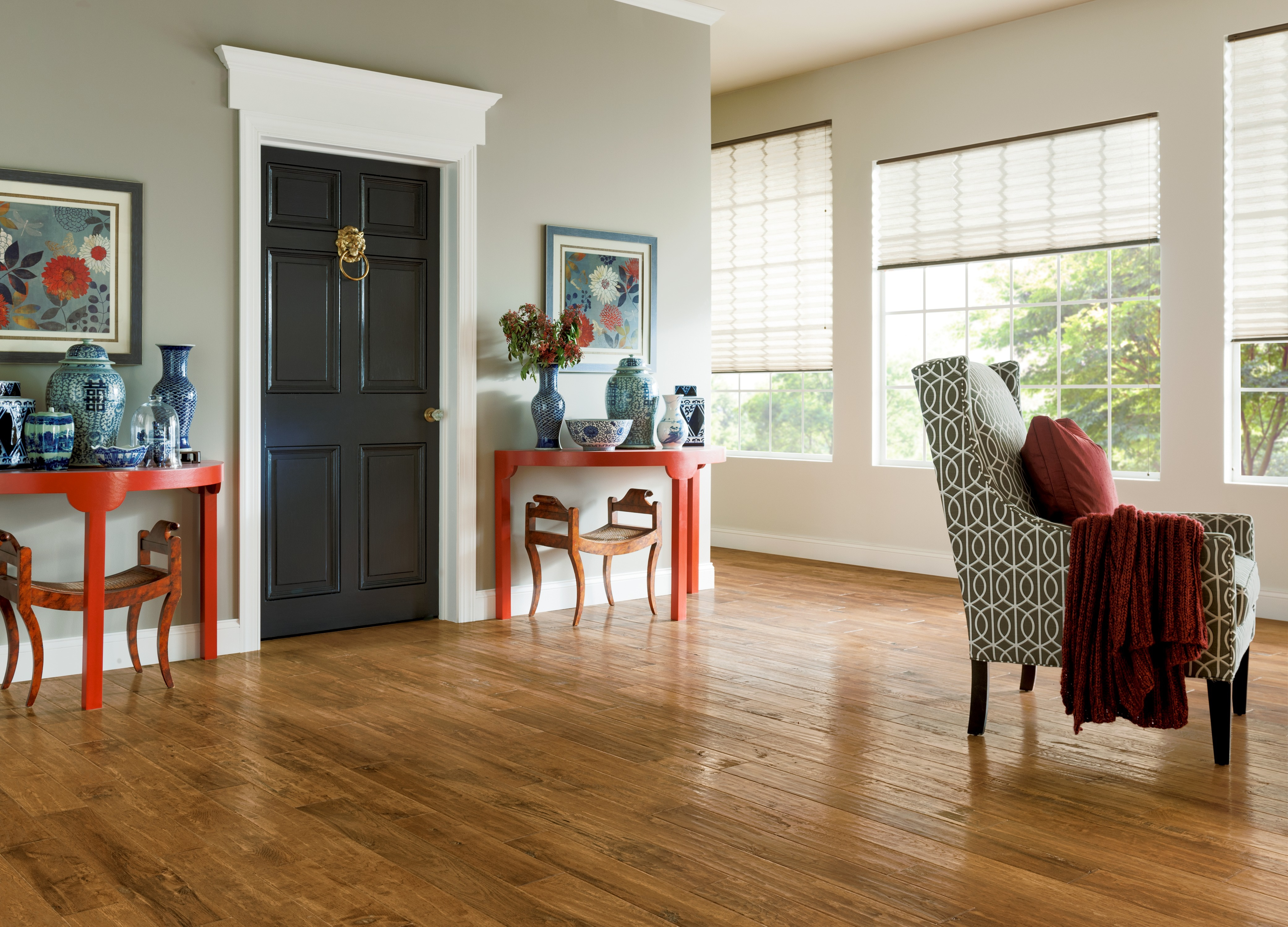 Armstrong American Scrape Hickory Solid Clover Honey From Znet Flooring