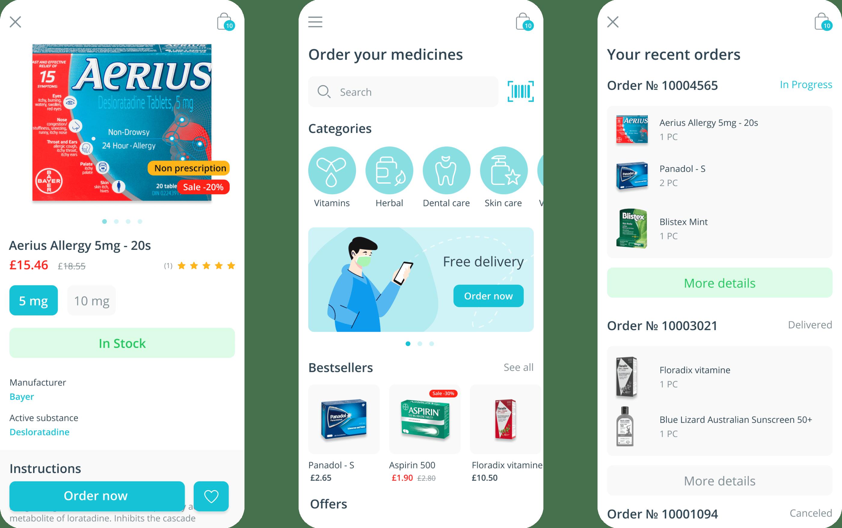 Drug Store Work