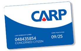 Physical CARP Card with your name