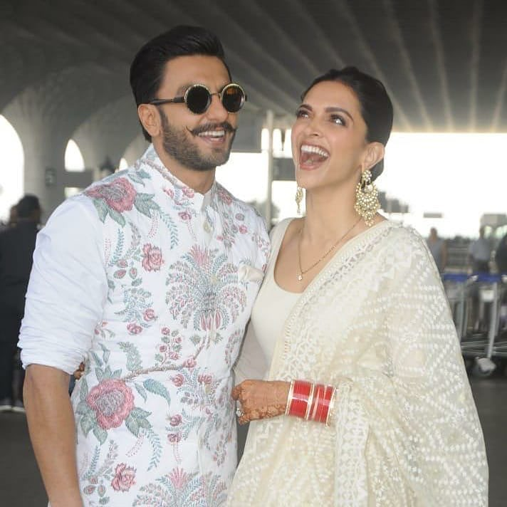 Deepika and Ranveer off to Bangalore