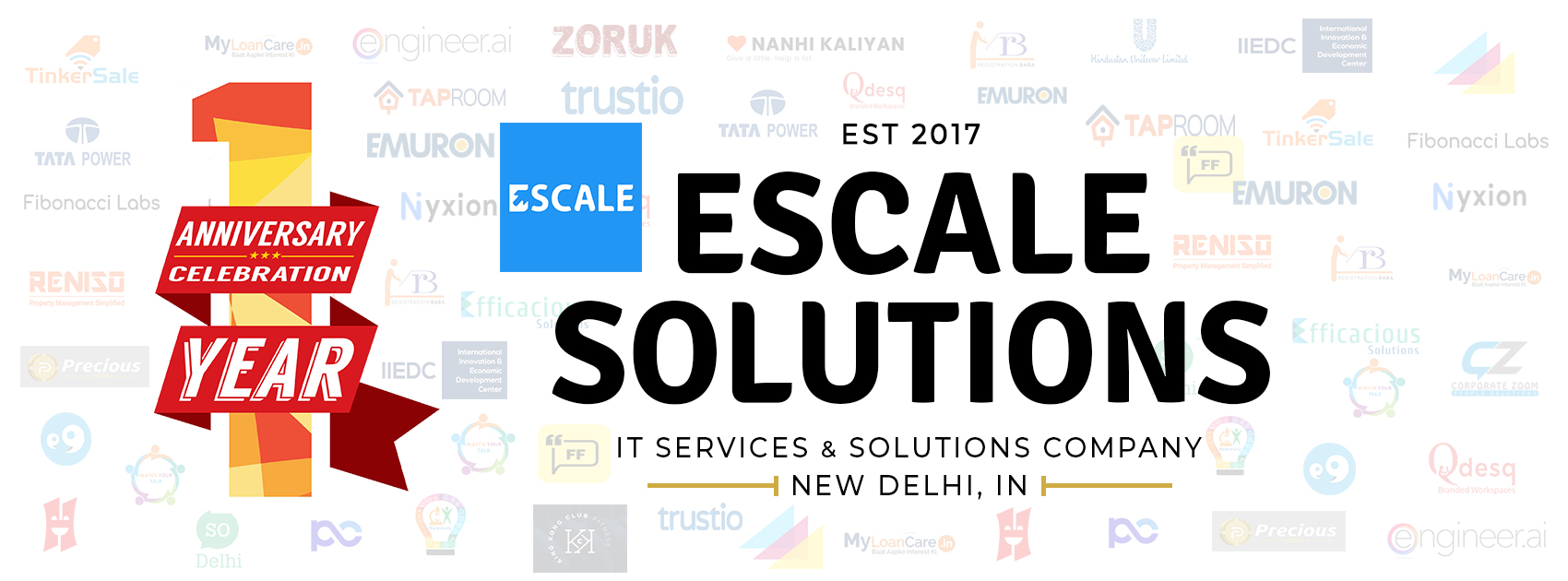 Escale Solutions: One Year Anniversary