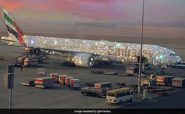 The Truth Behind The Pic Of Diamond-Studded Airplane Going Viral