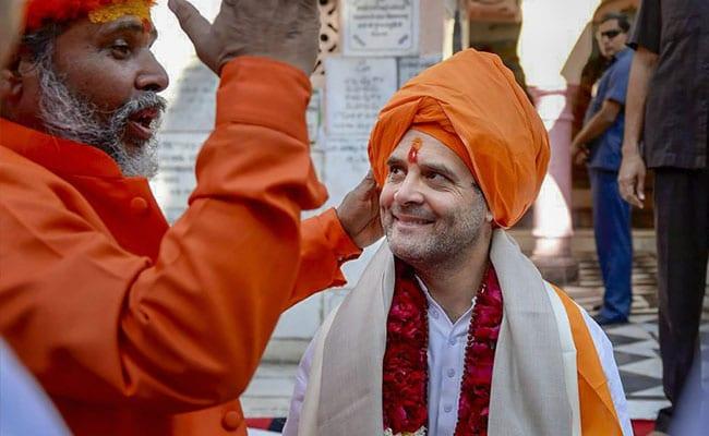 If Rahul Gandhi Is A Hindu Brahmin, Should Support Ram Temple: Uma Bharti