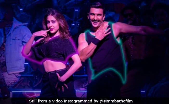 Simmba\'s Aankh Maare Redux: Ranveer Singh And Sara Ali Khan Rock This Party Track