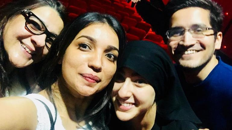 Sara Ali Khan goes undercover in burkha to watch Kedarnath with fans. See pics