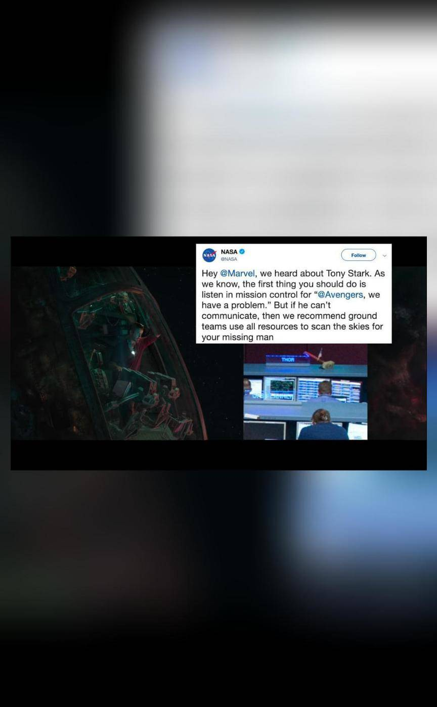 NASA tweets advice to find Iron Man after fans request