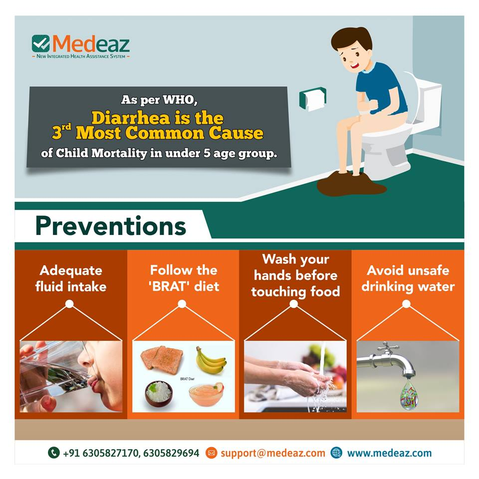 Be Aware and Stop the Effect of Diarrhea in Your Child.
