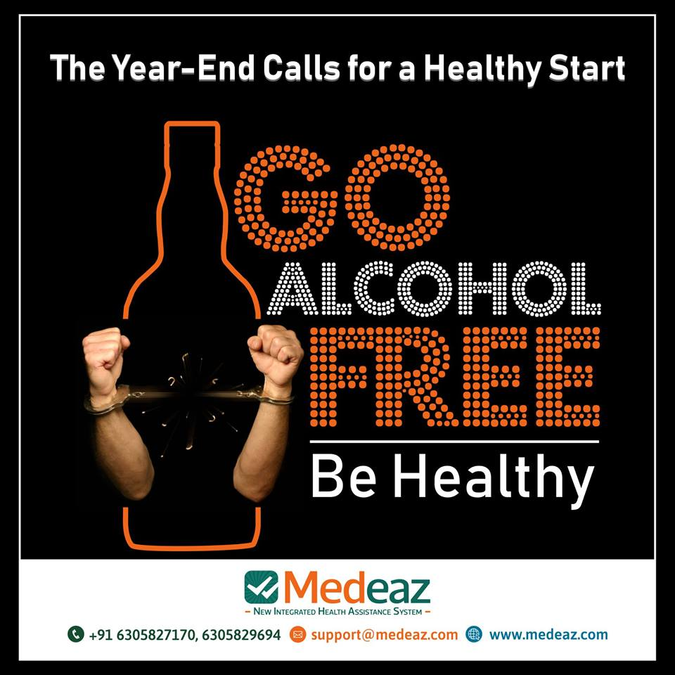 Go alcohol-free and be healthy.