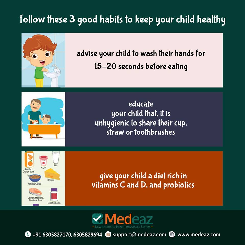 Healthy Habits For Child