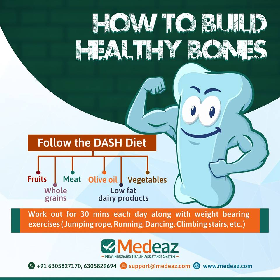 How to build our bones stronger?