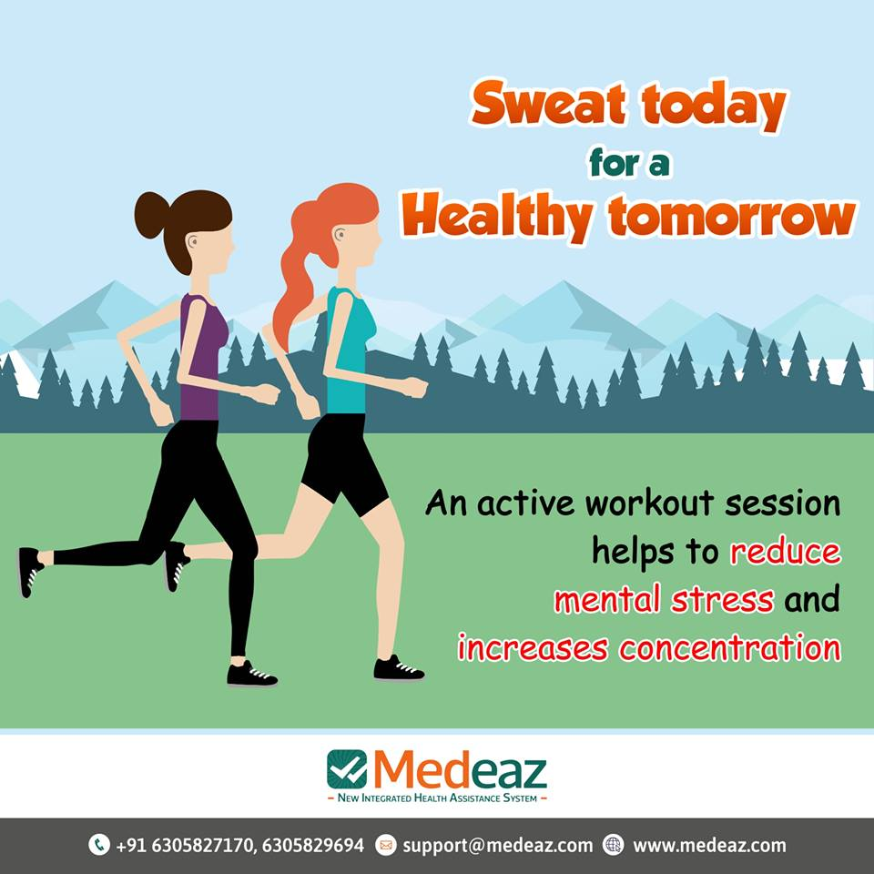 Sweat Today For Healthy Tomorrow