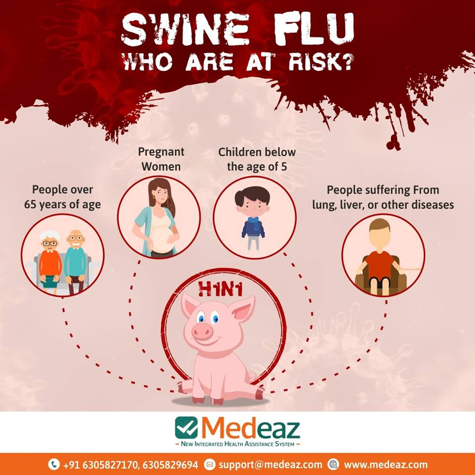 Swine Flu, Who are at risk?