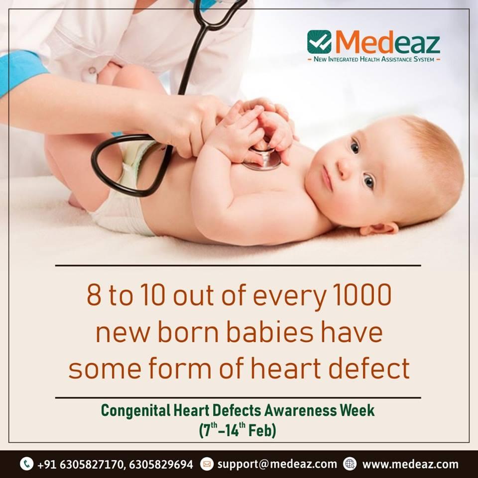 Congenital Heart Defects Awareness Week.