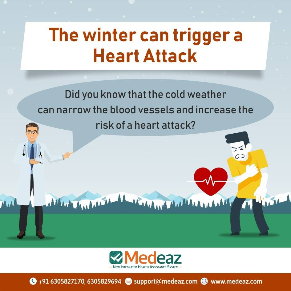 The Winter Can Trigger A Heart Attack
