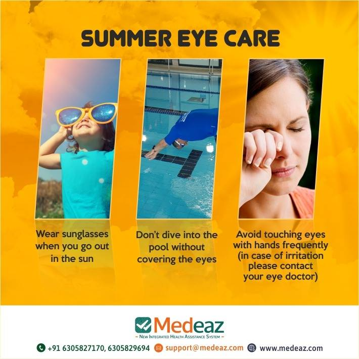 Easy Ways To Protect Your Eyes This Summer.