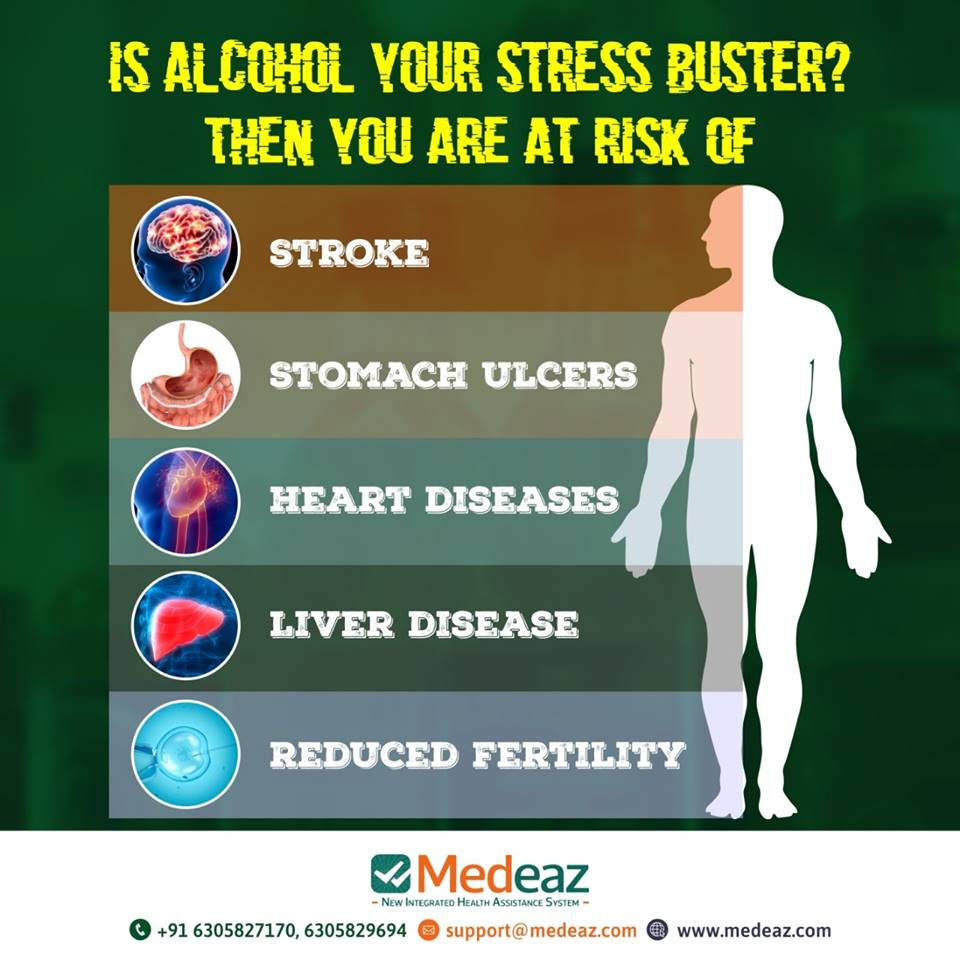 Is Alcohol Your Stress Buster