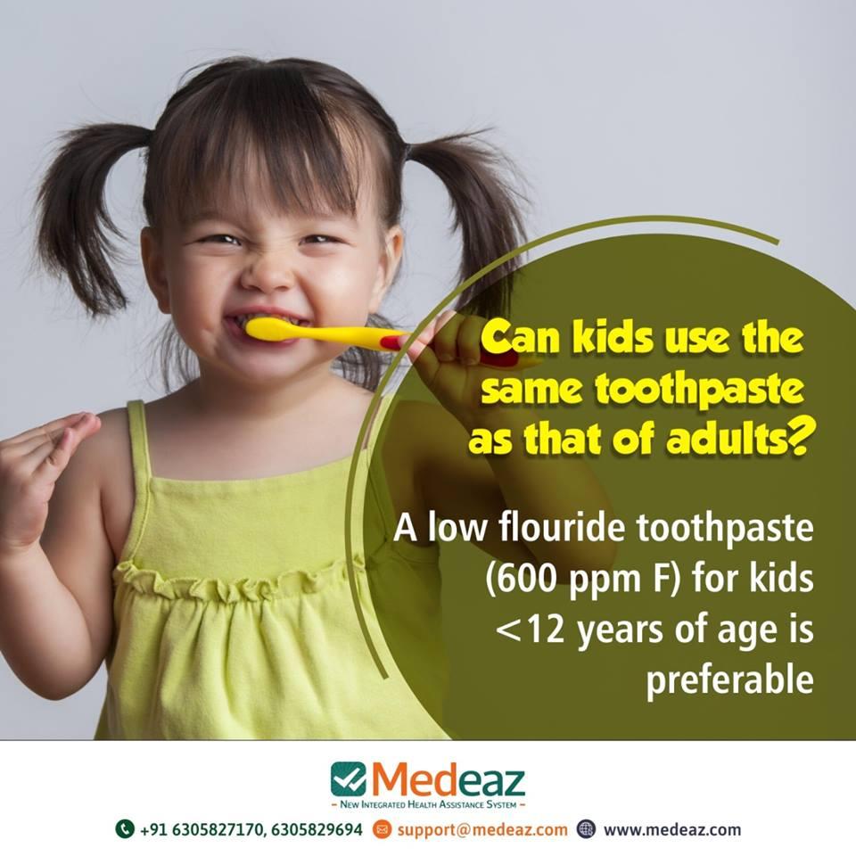The Hidden Danger of Using Your Kid\'s Toothpaste.